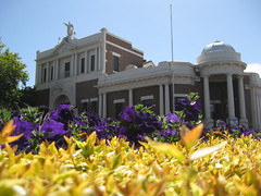 The Leongatha Memorial Hall and Former Shire Offices  Corner McCartin St and Michael Place, Leongatha (raaen99) Tags: 1920s windows detail building brick window st architecture facade town memorial shrine coatofarms architecturaldetail balcony australia victoria publicbuilding worldwari castiron rememberance symmetrical crown markettown edwardian gable offices balustrade 20s publichall gippsland 1926 memorialhall countryvictoria thegreatwar countrytown armedservices southgippsland twostorey worldwarimemorial clinkerbrick michaelplace hiproof leongatha brownbrick mccartin edwardiana provincialvictoria freeclassical dairytown architecturallydesigned castironbalustrade freeclassicalarchitecture mccartinstreet sunburstcoatofarms australianarmedservices classicalfreestyle classicalfreebuilding michaelpl leongathamemorialhall leongathashireoffices formerleongathashireoffices leongathamemorialhallandshireoffices temolloy raymondvritchie tuckpointed
