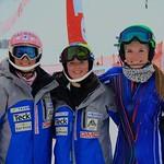 Hallie MacLachlan, Emma King, Stephanie Gartner - BC Team in Collingwood PHOTO CREDIT: Robyn Finley