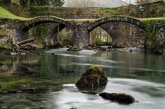 Packhorse Bridge at Dinas Mawddwy (Howie Mudge LRPS BPE1*) Tags: rock wales river landscape photography town nikon stream cymru packhorsebridge cokin dinasmawddwy nd8 nd4 tamron1750mmf28 singhrayndgrad d7000 ©howiemudge2013