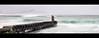 Misty pier (Chantal Steyn) Tags: ocean longexposure seascape water rain landscape southafrica coast pier nikon waves tripod calm cliffs slowshutter serene turqoise mistycliffs westerncape d300 1685mm