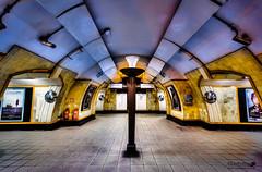 Turnpike Lane (LeePellingPhotography.co.uk) Tags: city london art lamp underground tube charles tiles lane turnpike standard deco harringay holden uplighter