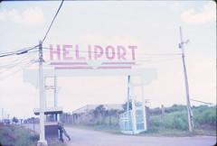 TSN Heliport Entr 12-66 (eaindy) Tags: 60s air tan son 1966 saigon base heliport hotel3 nhut tansonnhut