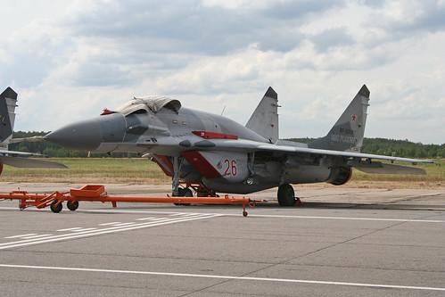 Mikoyan MiG-29SMT Fulcrum 'RF-92938 / 26 red'