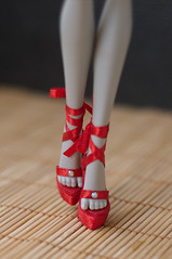 For Monster High (Trotilla) Tags: red shoes handmade 2013 27cm monsterhigh 201302 formhmary