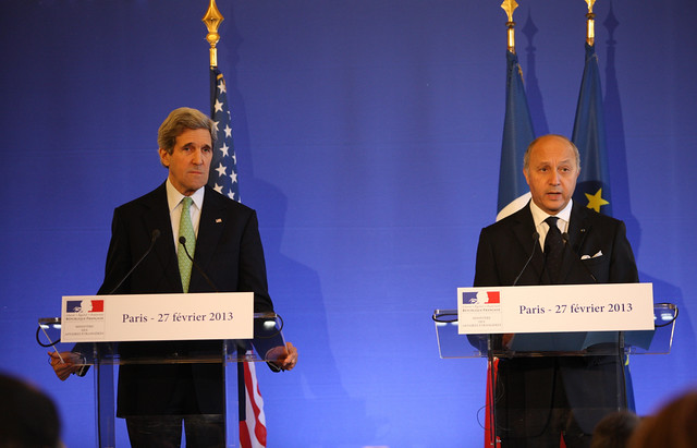 Thumbnail for Secretary Kerry Charms in Paris