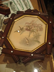 """VICTORIAN BIRD PRINT IN JEWELLED FRAME • <a style=""""font-size:0.8em;"""" href=""""http://www.flickr.com/photos/51721355@N02/8518290593/"""" target=""""_blank"""">View on Flickr</a>"""