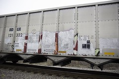 The meaning of buffed 1 (Revise_D) Tags: railroad graffiti tagging freight revised buffed fr8 benching revisedesigns
