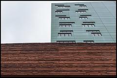 Citadel Almere (BrinksFotografie) Tags: city modern nikon groen citadel rood flevoland stad architectuur kantoor almere gebouw bruin gevel modernearchitectuur almerestad d700