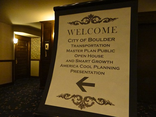Photo - Welcome: Transportation Master Plan open house + Smart Growth America workshop