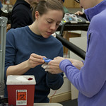 "<b>Physiology of Exercise</b><br/> Physiology of Exercise Lab, Spring of 2013. Instructed by Brian Solberg. Photograph by Jaimie Rasmussen<a href=""http://farm9.static.flickr.com/8234/8534650043_84c5dec3db_o.jpg"" title=""High res"">∝</a>"