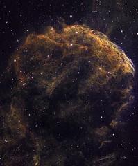 NGC 443 The Jellyfish Nebula HST Palette Crop (Chuck Manges) Tags: jellyfish telescope nebula astrophotography astronomy gemini hst ic443 Astrometrydotnet:status=solved Astrometrydotnet:version=14400 qhy9m ed102t Astrometrydotnet:id=alpha20130322909838