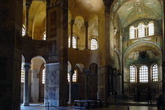 View with Ambulatory, Gallery, Chancel and Apse, San Vitale, Ravenna