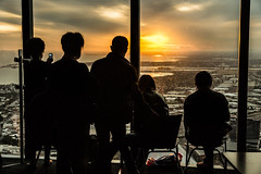 Whatching Melbourne (Nuxis [Davide]) Tags: sunset people sony australia melbourne victoria eureka skydeck a77 alpha77