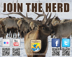 Join the Herd! (USFWS Mountain Prairie) Tags: elk usfws nationalwildliferefuge fws socialmedia qrcodes nationalelkrefuge usfishwildlifeservice nwrs mountainprairieregion