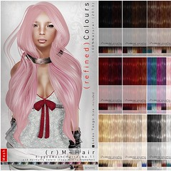( r e d ) M i n t ~ H a i r ( M s h ) No.11 ((  e d )) Tags: life red fashion hair photography photo mesh skin mint style manipulation sl secondlife second rigged newrelease flexy redmint meshhair