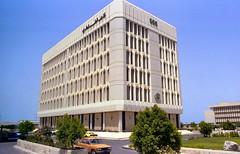 DOHA BUILDINGS  003 (Phytophot) Tags: 1979 buildings doha nationalbank qatar