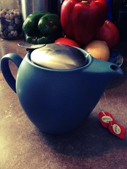 Tea, I adore thee. (jezzzah) Tags: tea teapot breakfasttea chameleonfilter