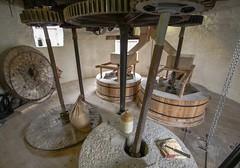 Holgate Windmill - stone floor (4) (nican45) Tags: york slr mill windmill canon yorkshire grain sigma wideangle machinery millstone restoration dslr flour 1020mm gears 1020 shaft holgate 600d stonefloor hwps 1020mmf456exdc holgatewindmill sackhoist eos600d stonesfloor