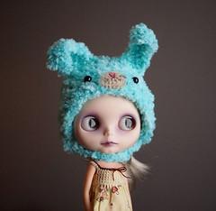 Peep Blue Bunny!