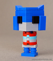 Lego Optimus Prime (customBRICKS) Tags: brick movie robot lego transformers comicbook animated custom autobot optimusprime moc cuusoo cartoom lilfigs