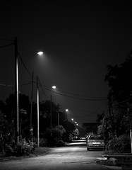 lonely street (TheShutter.Films) Tags: iso100 fuji pentax across smc f4 67 200mm