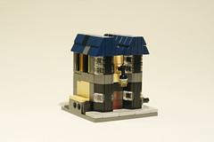 Ollivander's Wand Shop (edubl31216) Tags: lego wand harry potter harrypotter ravenclaw minimodular ollivander