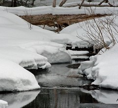 winter's beauty (mike greenwood 13) Tags: winter water vermont vt riptonvt middleburyriver spiritinnature