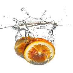 It was raining... I was bored... 1 (Mark Frost :)) Tags: red orange water fruit speed canon pepper photography eos high vegetable pear splash kiwi 1ds mark2 stroboscopic