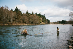 Fish the Swing (Liz Devine) Tags: oregon river outdoors fishing flyfishing clackamasriver lizdevine
