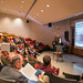 Guests attend presentations for the Suter Science Campaign, March 25, 2013.