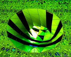 Cartoon (christelerousset) Tags: cartoon toon dessinanim vert green imagination surraliste architecture futuriste color lyon 69 rhnealpes sane building futur