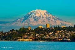 Beautiful Mount Rainier (Brian Feutz) Tags: mt rainier tacoma pnw ruston wa