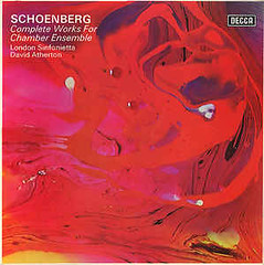 (clascaris) Tags: lp 5lps schoenberg completeworksforchamberensemble atherton londonsinfonietta decca brightred