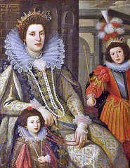 Maria Maddalena (1589-1631), Grand Duchess of Tuscany, with 2 children (petrus.agricola) Tags: maria magdalena maddalena archduchess austria tyrol wife cosimo tuscany