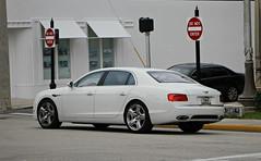 Bentley Flying Spur V8 (SPV Automotive) Tags: bentley flying spur v8 sedan exotic sports car white