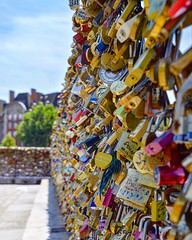 To Paris with love (belmartin) Tags: france europe padlocks lovelocks paris