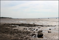 West Kirby Wirral  230816 (2) (Liz Callan) Tags: westkirby wirral lizcallan lizcallanphotography sea seaside beach sand sandy boats water islands people ben bordercollie dog beaches reflections canoes rocks causeway yachts outside landscape seascape