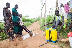 Cholera in South Sudan (Albert Gonzalez Farran) Tags: idp juba southsudan cholera clashes diseases health internallydisplacedpeople outbreak violence war jubek