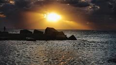 endless day (Angelo Trapani) Tags: day sunrise alba mare atmosfera luce nubi nuvole sole