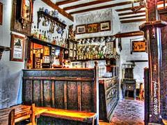 Pedraza (Segovia) taberna antigua (ferlomu) Tags: bar ferlomu hdr pedraza segovia taberna