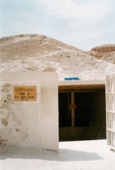 The Tomb of Tutankhamun (Anthropology & Archaeology) Tags: archaeology egypt tutankhamun tomb entrance valley kings