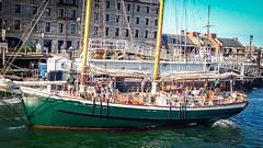 An outgoing schooner (kuntheaprum) Tags: tgif iphone5