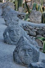 DSC_0875 (Sciabby) Tags: sicily sicilia sciacca filippobentivegna facce faces stone pietra castelloincantato artbrut