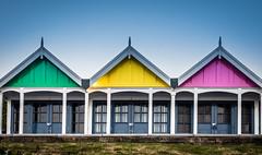 beach huts ( explored ) (damianmkv) Tags: beachhuts weymouth em1