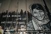 Laila Khaled (stefanos-) Tags: travelling backpacking palestine holyland christianity wall graffiti nazareth jesus bethlehem westbank