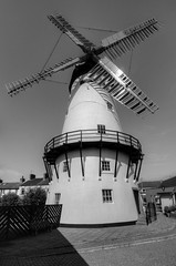 MARSH MILL WINDMILL, THORNTON, NR FLEETWOOD, LANCASHIRE, ENGLAND. (ZACERIN) Tags: marsh mill windmill thornton fleetwood lancashire england pictures of marsh mill zacerin christopher paul photography windmills windmills in lancashire north west england uk history ralph slater