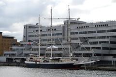 Rigours (dhcomet) Tags: london sts lordnelson jubileesailingtrust sail barque tallship westindiadock isleofdogs