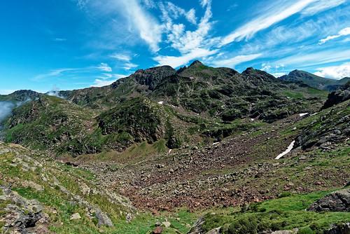 Trek Haute Ariège - Jour 4 - pic de l'Aspre