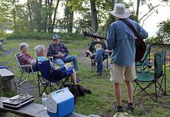 1287 (Jean Arf) Tags: trumansburg ny newyork summer 2016 cayuga lake kevin joanne yvie jim annie dog kerry guitar music