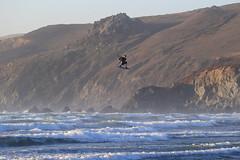Kiteboarding at Dillon Beach - 1 (fksr) Tags: kiteboarding kitesurfing dillonbeach tomalesbay marincounty california waves sport action sunset jump